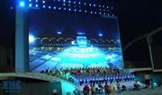 Outdoor LED display screen in Shanghai