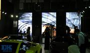 Indoor LED display screen for exposition