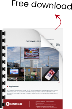 Outdoor Advertising LED Displays-OF Series