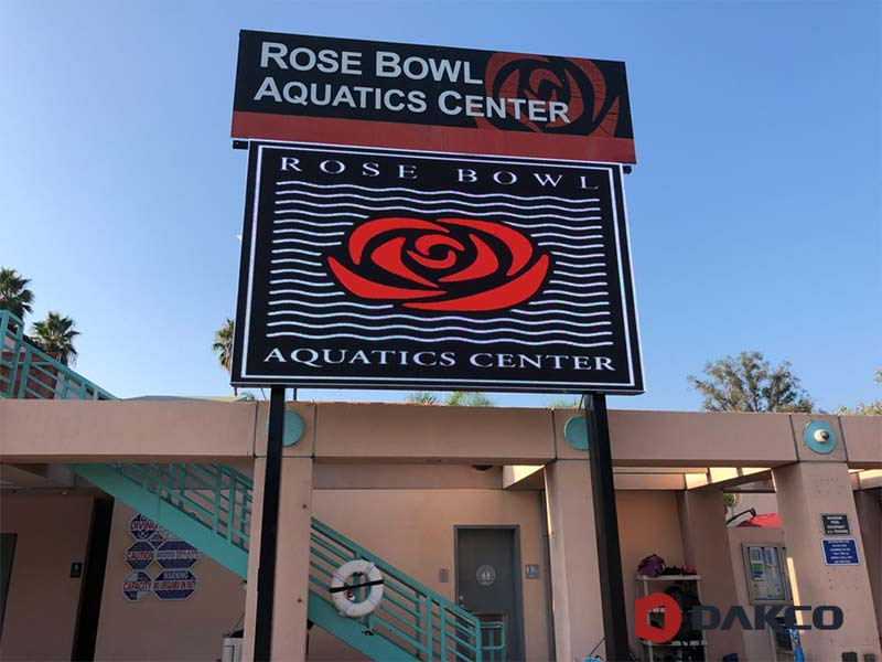Outdoor Led Sign For Rosebowl,USA