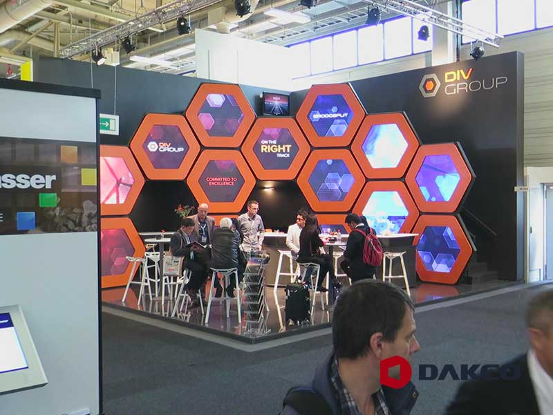 Indoor Led Video Wall For Trade Show