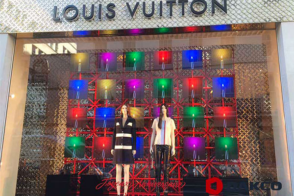 Indoor LED Display For Louis Vuitton