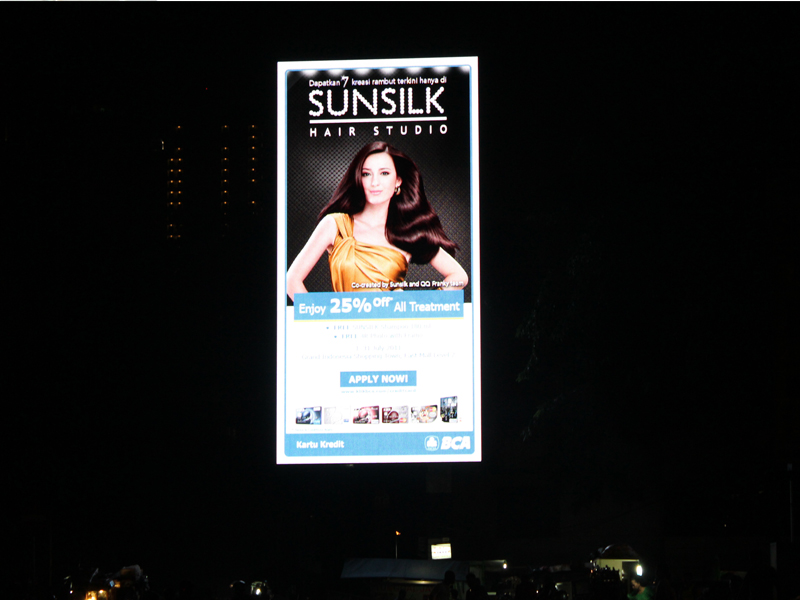 Outdoor Led Sign in Indonesia