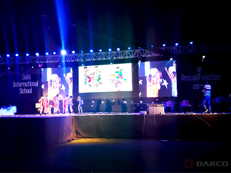 P5mm rental led screen in India