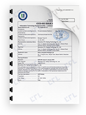 IC Test Report (accredited lab)
